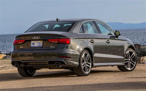 2017 Audi A3 Sedan S line (US) - Wallpapers and HD Images