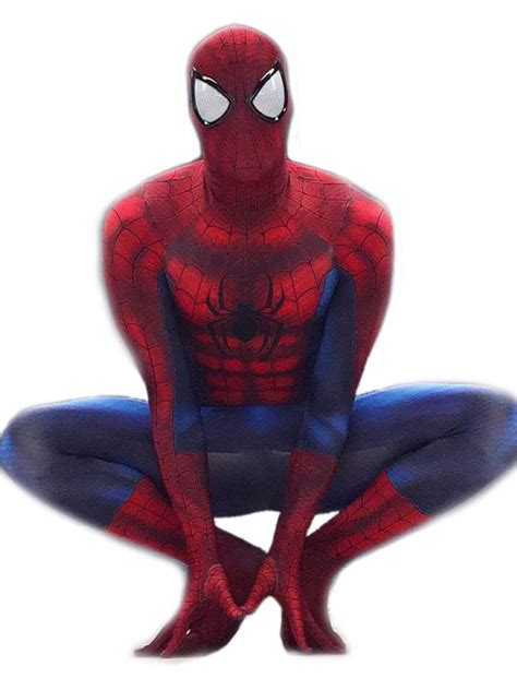 Spiderman Complete Cosplay Costume For Adults   Costume
