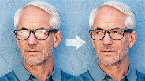 How to 'Magically' Remove Glare from Glasses in Photoshop