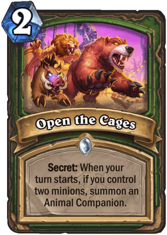 Open the Cages - Hearthstone Top Decks