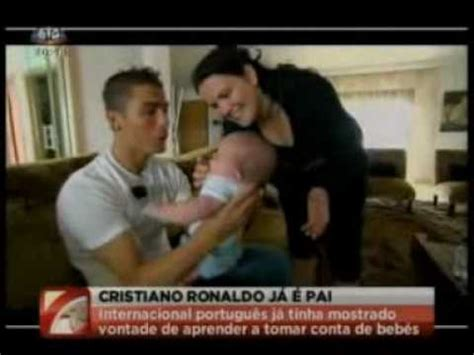 Cristiano Ronaldo is a Dad - EXCLUSIVE REPORT - YouTube